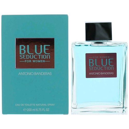 Blue Seduction by Antonio Banderas, 6.7 oz Eau De Toilette Spray for Women