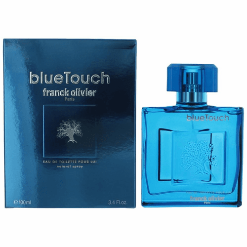 Blue Touch by Franck Olivier, 3.4 oz Eau De Toilette Spray for Men