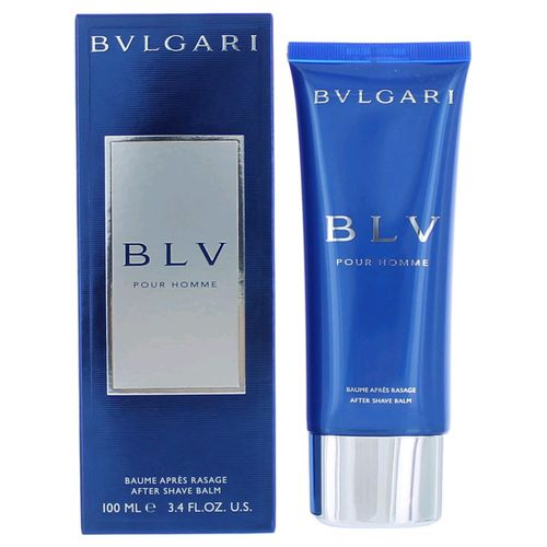 BLV Pour Homme by Bvlgari, 3.4 oz After Shave Balm for Men