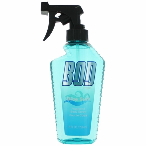 Bod Man Blue Surf by Parfums De Coeur, 8 oz Frgrance Body Spray for Men