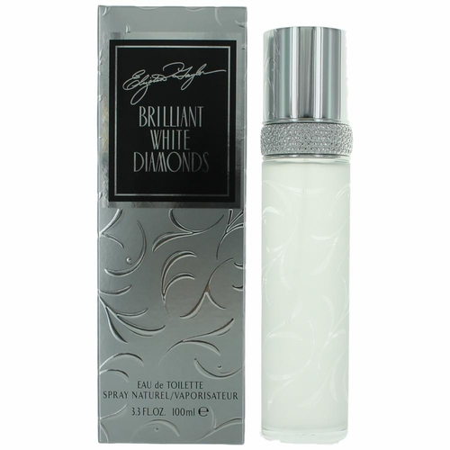 Brilliant White Diamonds by Elizabeth Taylor, 3.4 oz Eau De Toilette Spray for Women