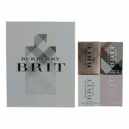 Brit by Burberry, 4 Piece Variety Gift Set for Women