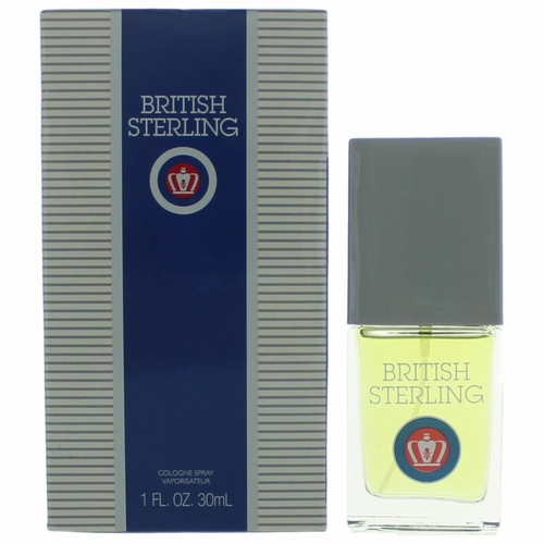 British Sterling by Dana, 1 oz Cologne Spray for Men