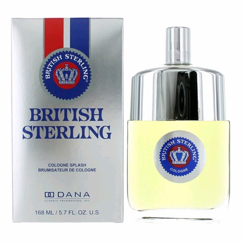 British Sterling by Dana, 5.7 oz Eau De Cologne Splash for Men