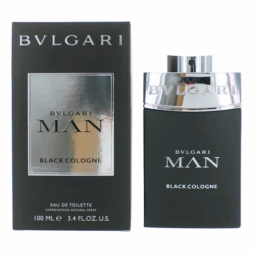 Bvlgari Man Black Cologne by Bvlgari, 3.4 oz Eau De Toilette Spray for Men