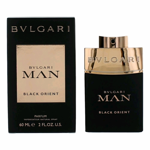 Bvlgari Man Black Orient by Bvlgari, 2 oz Parfum Spray for Men