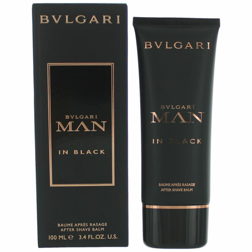 Bvlgari Man in Black by Bvlgari, 3.4 oz After Shave Balm for Men