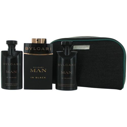 Bvlgari MAN in Black by Bvlgari, 4 Piece Gift Set for Men 176
