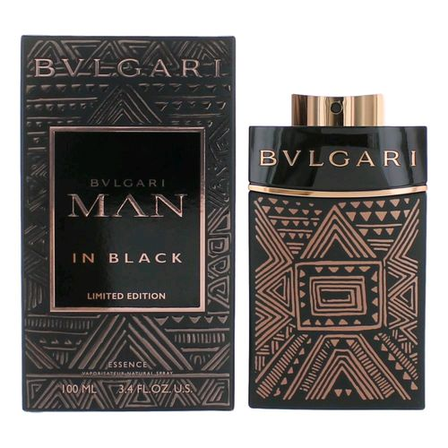 Bvlgari MAN in Black Essence by Bvlgari, 3.4 oz Eau De Parfum Spray for Men