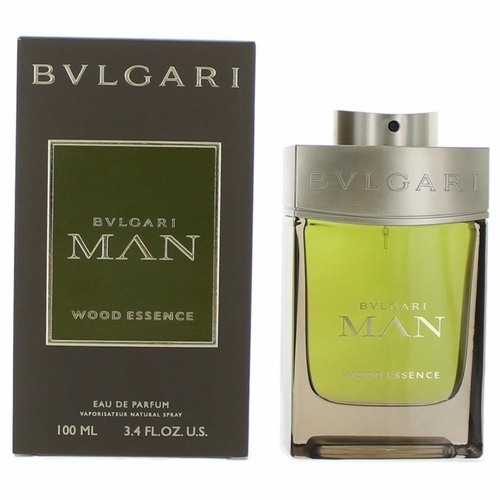 Bvlgari Man Wood Essence by Bvlgari, 3.4 oz Eau De Parfum Spray for Men