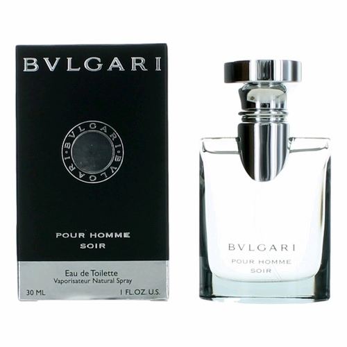 Bvlgari Soir by Bvlgari, 1 oz Eau De Toilette Spray for Men