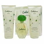 Cabotine by Parfums Gres, 3 Piece Gift Set for Women