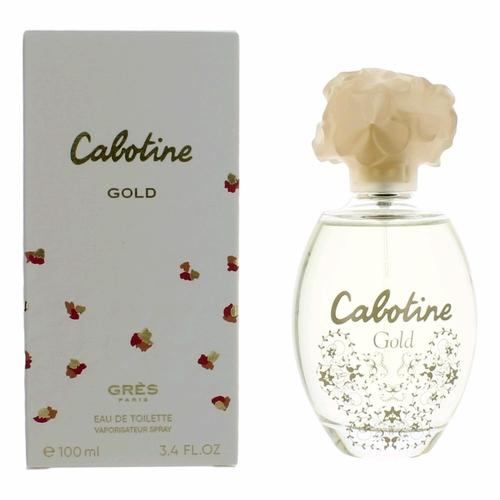 Cabotine Gold by Parfums Gres, 3.4 oz Eau De Toilette Spray for Women