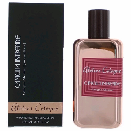 Camelia Intrepide by Atelier Cologne, 3.3 oz Cologne Absolute Spray for Unisex