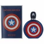Captain America by Marvel, 3.4 oz Eau De Toilette Spray for Men