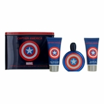 Captain America by Marvel, 3 Piece Gift Set for Men