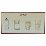 Cartier by Cartier, 4 Piece Mini Variety Set for Women