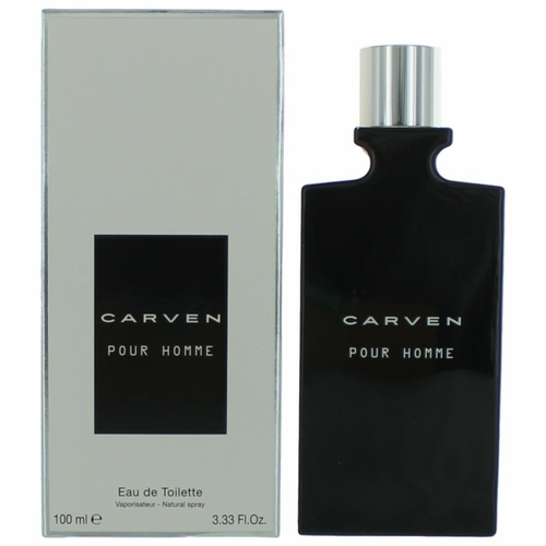 Carven Pour Homme by Carven, 3.3 oz Eau De Toilette Spray for Men