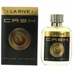 Cash by La Rive, 3.3 oz Eau De Toilette Sprary for Men
