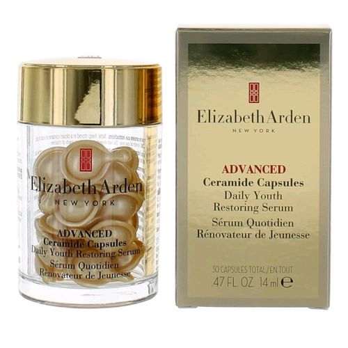 Ceramide by Elizabeth Arden, 30 Advanced Daily Youth Restoring Serum Capsules