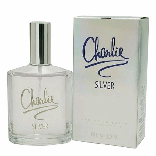 Charlie Silver by Revlon, 3.4 oz Eau De Toilette Spray for Women
