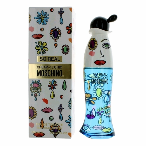 Cheap & Chic So Real by Moschino, 3.4 oz Eau De Toilette Spray for Women