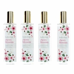 Cherry Blossom by Bodycology, 4 Pack 8 oz Fragrance Mist for Women