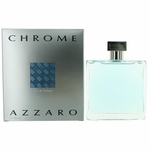 Chrome by Azzaro, 3.4 oz Eau De Toilette Spray for Men
