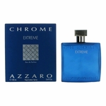 Chrome Extreme by Azzaro, 3.4 oz Eau De Parfum Spray for Men