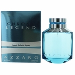 Chrome Legend by Azzaro, 2.6 oz Eau De Toilette Spray for Men