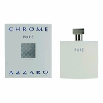 Chrome Pure by Azzaro, 3.4 oz Eau De Toilette Spray for Men