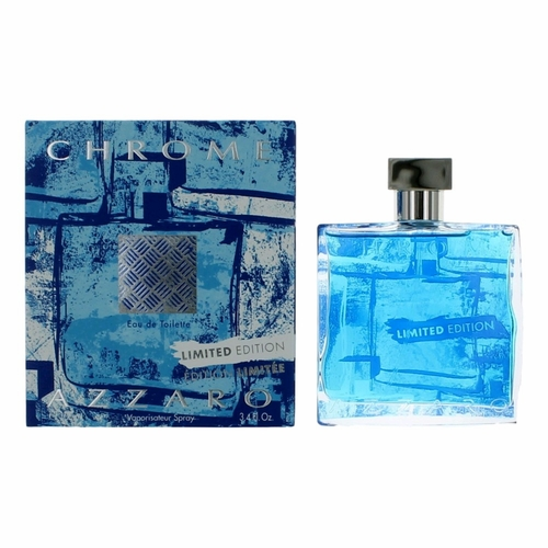 Chrome Summer Limited Edition by Azzaro, 3.4 oz Eau De Toilette Spray for Men