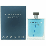 Chrome United by Azzaro, 6.7 oz Eau De Toilette Spray for Men