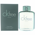 CK Free by Calvin Klein, 3.4 oz Eau De Toilette Spray for Men