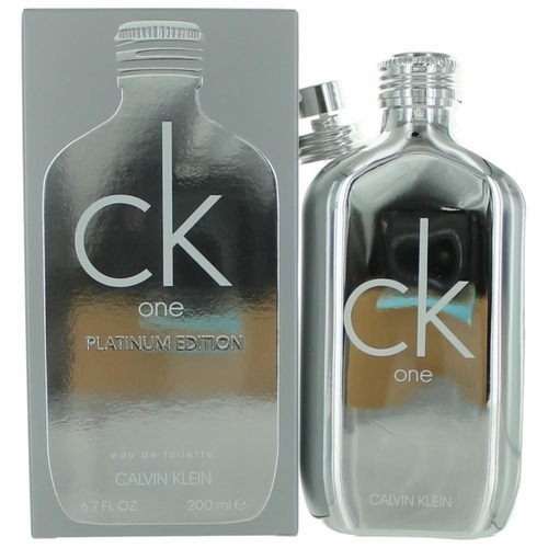 CK One Platinum by Calvin Klein, 6.7 oz Eau De Toilette Spray for Unisex