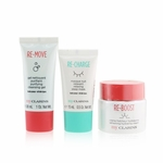 Clarins My Clarins The Essentials Set: Re-Boost Hydrating Cream 50ml+ Re-Move Cleansing Gel 30ml+ Re-Charge Sleep Mask 15ml  3pcs