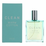 Clean Warm Cotton by Dlish, 2 oz Eau De Toilette Spray for Women
