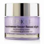 Clinique Repairwear Laser Focus Night Line Smoothing Cream - Very Dry To Dry Combination  50ml/1.7oz