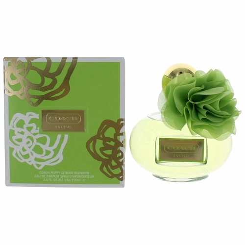 Coach Poppy Citrine Blossom by Coach, 3.4 oz Eau De Parfum Spray for Women