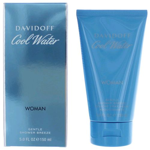 Cool Water by Davidoff, 5 oz Gentle Shower Breeze (Gel) for Women