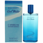 Cool Water Caribbean Summer by Davidoff, 4.2 oz Eau De Toilette Spray for Men
