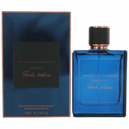 Cristiano Ronaldo Legacy Private Edition by Cristiano Ronaldo, 3.4 oz Eau De Parfum Spray for Men