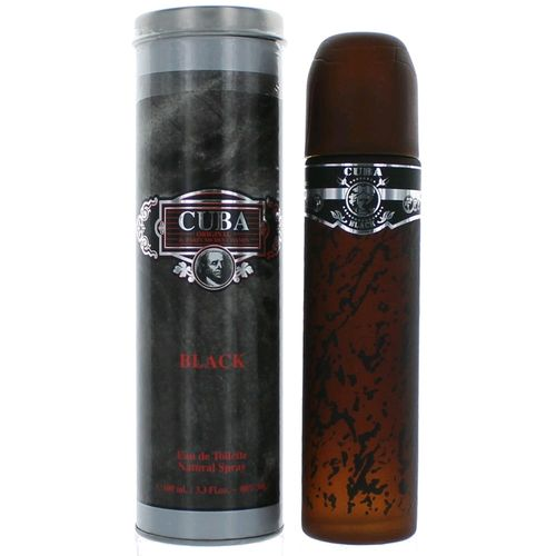 Cuba Black by Cuba, 3.3 oz Eau De Toilette Spray for Men
