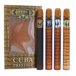 Cuba Prestige by Cuba, 4 Piece Gift Set for Men