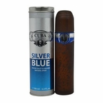 Cuba Silver Blue by Cuba, 3.3 oz Eau De Toilette Spray for Men