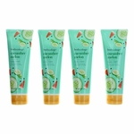 Cucumber Melon by Bodycology, 4 Pack 8 oz Moisturizing Body Cream for Women