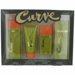 Curve by Liz Claiborne, 4 Piece Grooming Gift Set for Men