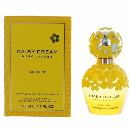 Daisy Dream Sunshine by Marc Jacobs, 1.7 oz Eau De Toilette Spray for Women