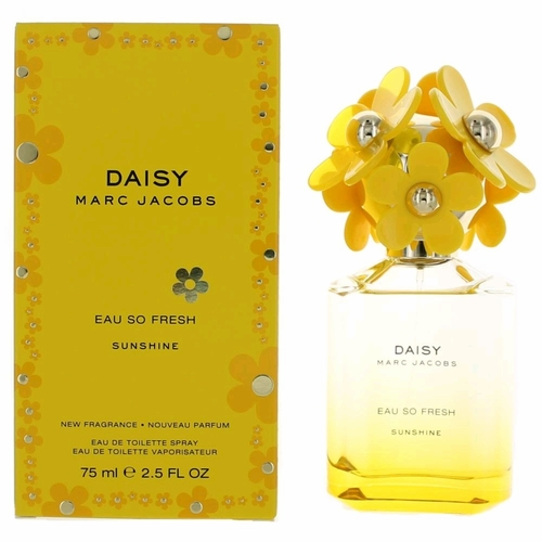 Daisy Eau So Fresh Sunshine by Marc Jacobs, 2.5 oz Eau De Toilette Spray for Women