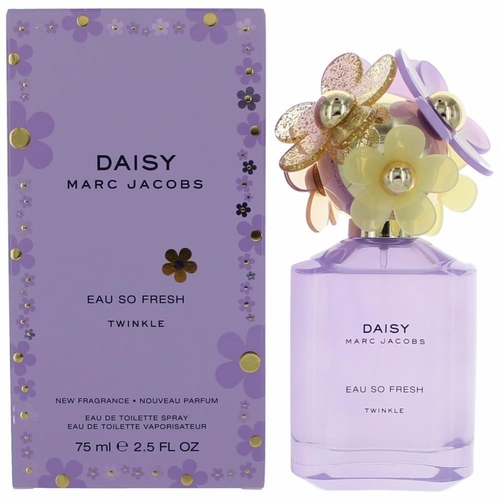 Daisy Eau So Fresh Twinkle by Marc Jacobs, 2.5 oz Eau De Toilette Spray for Women